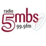 Logo da emissora Radio 5MBS 99.9 FM