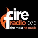 Logo da emissora Radio Fire 107.6 FM