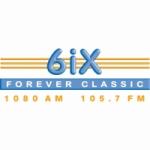 Logo da emissora Radio 6IX 1080 AM