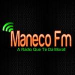 Logo da emissora Rádio Maneco FM