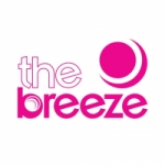 Logo da emissora Radio The Breeze 107.7 FM
