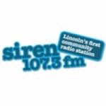 Logo da emissora Radio Siren 107.3 FM