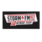 Logo da emissora Radio Storm 87.7 FM