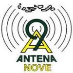 Logo da emissora Rádio Antena Nove 91.3 FM