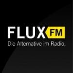 Logo da emissora FluxFM 100.6 FM
