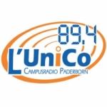 Logo da emissora L'Unico 89.4 FM
