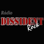 Logo da emissora Rádio Dissident Rock