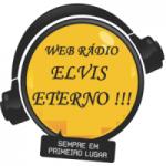 Logo da emissora Rádio Elvis Eterno