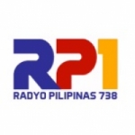 Logo da emissora Radyo NG Bayan 738 AM