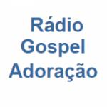 Logo da emissora Rádio Gospel Adoração