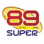 Logo da emissora Rádio Super 89 FM