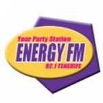 Logo da emissora Radio Energy 92.1 FM
