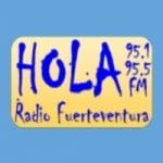 Logo da emissora Radio Hola 95.7 FM