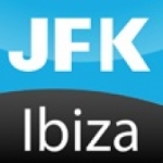 Logo da emissora Radio JFK 96.7 FM