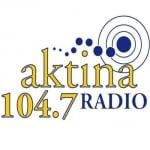 Logo da emissora Radio Aktina 104.7 FM