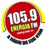Logo da emissora Rádio Energia 105.9 FM