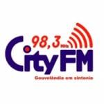 Logo da emissora Rádio City 98.3 FM
