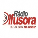 Logo da emissora Rádio Difusora Sul da Bahia 640 AM