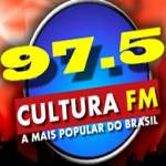 Logo da emissora Rádio Cultura 97.5 FM
