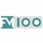 Logo da emissora Radio FM100