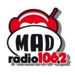 Logo da emissora Radio Mad 106.2 FM