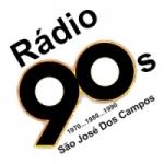 Logo da emissora Rádio 90 sjc