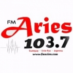 Logo da emissora Radio Aries 103.7 FM