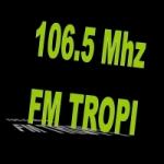 Logo da emissora Radio Tropi 106.5 FM