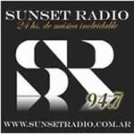 Logo da emissora Sunset Radio 94.7 FM
