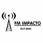 Logo da emissora Radio Impacto 91.9 FM