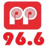 Logo da emissora Radio Pepper 96.6 FM