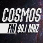 Logo da emissora Radio Cosmos 90.1 FM