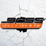 Logo da emissora Radio Boss 104.1 FM