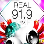Logo da emissora Radio Real Grenada 91.9 FM