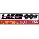 Logo da emissora Radio WLZX Lazer 99.3 FM