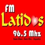 Logo da emissora Radio Latidos 96.5 FM