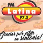 Logo da emissora Radio Latina 97.5 FM