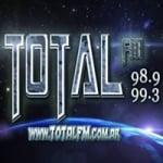 Logo da emissora Radio Total 98.9 FM