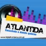 Logo da emissora Radio Atlántida 98.1 FM