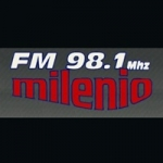 Logo da emissora Radio Milenio 98.1 FM