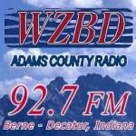 Logo da emissora Radio WZBD 92.7 FM