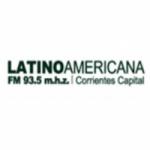 Logo da emissora Radio Latinoamericana 93.5 FM