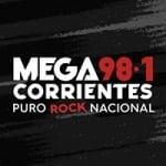 Logo da emissora Radio Mega 98.1 FM