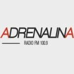 Logo da emissora Radio Adrenalina 100.9 FM