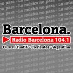 Logo da emissora Radio Barcelona 104.1 FM