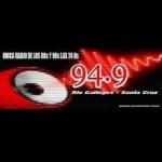 Logo da emissora Radio Retro 94.9 FM