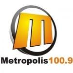Logo da emissora Radio Metropolis 100.9 FM