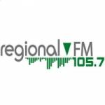 Logo da emissora Radio Regional 105.7 FM