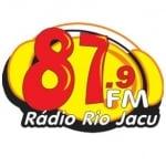 Logo da emissora Rádio Rio Jacu 87.9 FM
