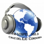 Logo da emissora Radio Gospel 102.3 FM